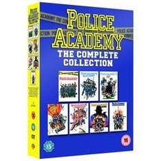 (UK) Police Academy: Films 1 - 7 Collection (7 x DVD) für 10.82€ @ play (moviemars)