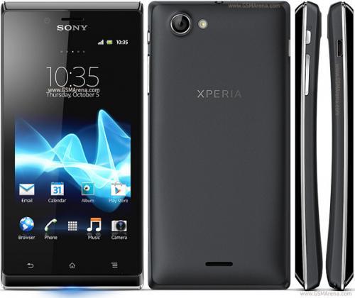 SONY XPERIA J ohne Simlock @eBay Mittelklasse Smartphone