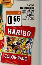 HARIBO verschiedene Sorten 0,66€ (Karl-Marx-Stadt) u.U. Bundesweit