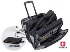 mShop: Bundle: Wenger Potomac Notebook Trolley 38,1 cm (15,4 Zoll), inklusive Freecom Mobile Drive XXS USB3 1 TB