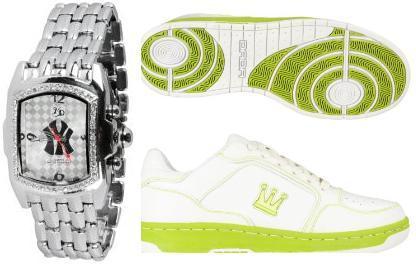 Dada Supreme Schuhe + Uhr Stylisch incl. Versand