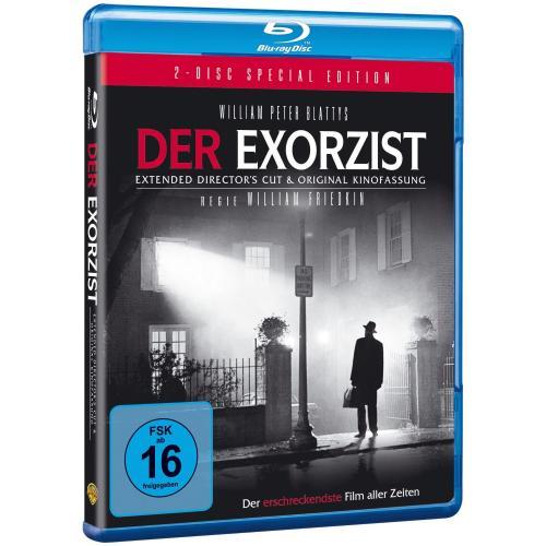 [ Blu-ray ] Der Exorzist (Kinofassung + Director's Cut) [Special Edition] für 10.97 EUR inkl. Versand @ Amazon.de