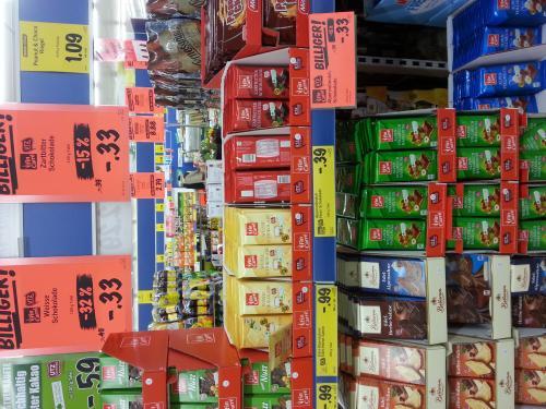 [bundesweit] Eigenmarken-Schokolade für 33 Cent @Lidl