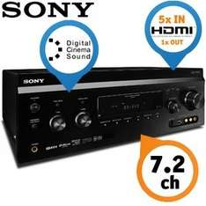Sony STR-DA3700ES 7.2 AV-Receiver (7x 125 Watt, HDMI, Upscaler 1080p) schwarz für 799€ +VSK (idealo 1.019€) @ibood (-39,95€ qipu möglich!)