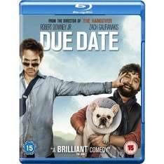 Blu-Ray - Stichtag (Due Date) für €6,99 [@Play.com]