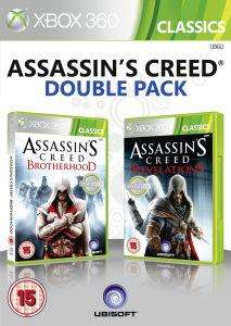 (UK) Assassin's Creed Double Pack (Brotherhood and Revelations) [Xbox 360] für umgerechnet ca. 13.63€ @ Zavvi