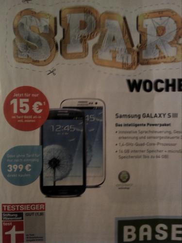 Samsung Galaxy S3 bei Base (evtl. lokal München)