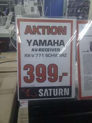 Yamaha RX-V771 für 399€ @ Saturn (evtl. lokal in Leipzig Hbf)