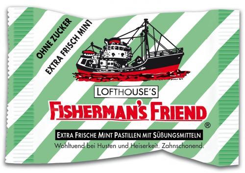 4 Packungen Fisherman's Friend im Netto Aachen