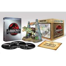[amazon.de] Jurassic Park Ultimate Trilogy (Limited Collector's Edition inkl. T-Rex Figur) [Blu-ray] [Limited Edition]  : 24,97 Euro || Alternativ: Holzbox-Version: 19,97 Euro