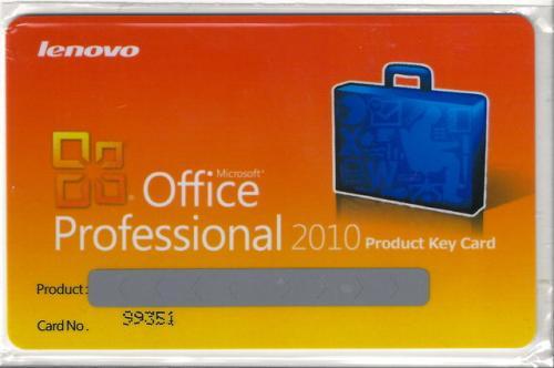 Microsoft Office Professional 2010 Product Key Card (2 Lizenzen) für nur 148,90 inklusive Versand!
