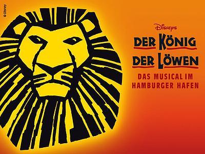 [ADAC] 2 Musical Tickets für 99 € (PK2) bzw. 109 € (PK1) + Gebühren (123,86 € statt 244,38 €!) z.B. König der Löwen u. a.