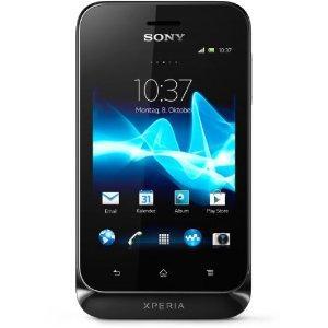 Sony Xperia Tipo schwarz + 10,- Xtra-Card (T-Mobile)