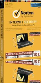 Symantec Norton Internet Security 2013 (3 PCs) für 9 € in Chemnitz (MediaM) & LE (Saturn @ Bühl)