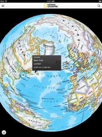 GRATIS: National Geographic World Atlas für IOS