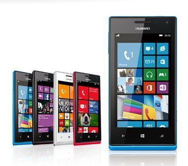"""Huawei Ascend W1 günstiger Windows Phone 8 Einstieg mit 4"""" und starkem Akku für 195,35€"""