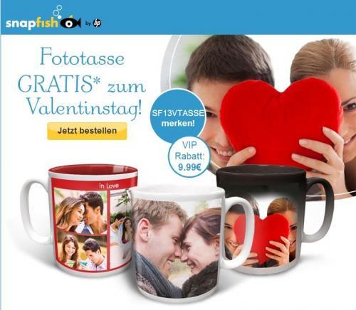 [snapfish] Fototasse für 4,95€