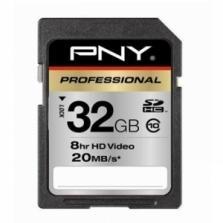 PNY 32GB SDHC Speicherkarte für 21,23