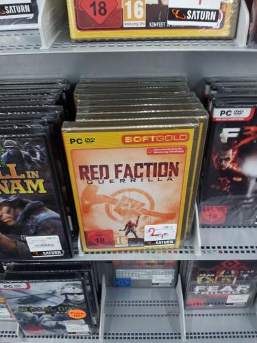 [lokal hh Hbf Saturn] red faction guerrilla pc für 2€