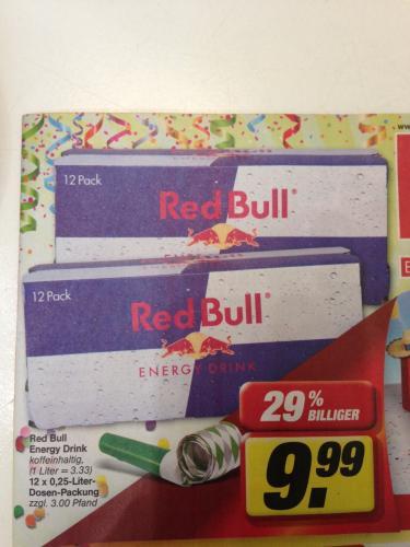 Red Bull Energy Drink 12er Pack