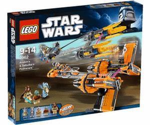 Lego Star Wars Anakin's und Sebulba's Podracers (Lokal Köln Lego Store)