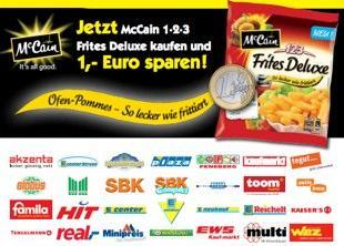 McCain 1-2-3 Frites Deluxe Kostenlos [Marktkauf Recklinghausen]