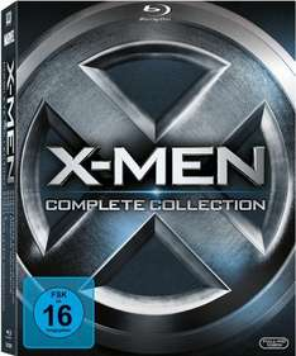 Blu-Ray Box - X-Men Complete Collection (5 Discs) ab €24,78 [@Voelkner.de]