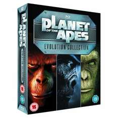 "Blu-Ray Box - Planet der Affen ""Evolution Collection"" (7 Discs) für €28,58 [@Amazon.co.uk]"