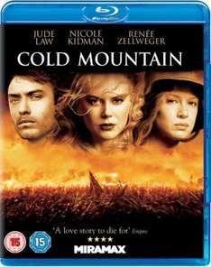 Blu-Ray - Unterwegs nach Cold Mountain für €5,75 [@Zavvi.com]