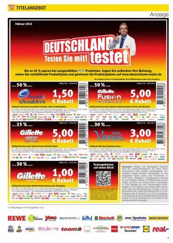 1,50€ Rabatt auf head&shoulders