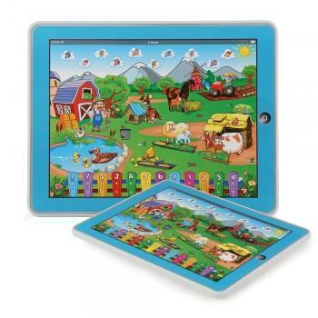 Kinder Tablet Spielzeug Lerncomputer Learning Pad für 9,38€