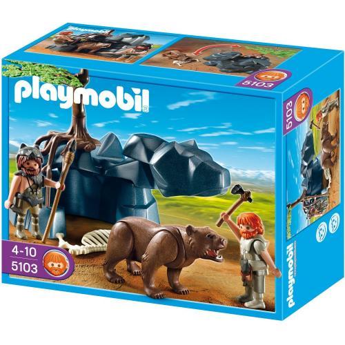 Playmobil™ - Höhlenbär mit Höhlenmenschen (5103) ab €7,70 [@Toysrus.de]