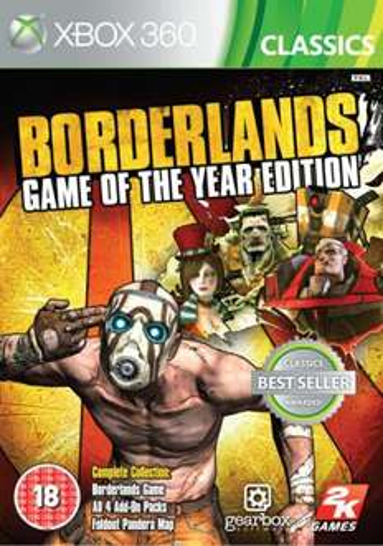 Xbox 360 - Borderlands (Game of the Year Edition) für €11,48 [@TheHut.com]