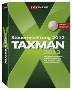 Lexware Taxman 2013 (Steuerjahr 2012) ESD (Download Version) für 16,90 EUR @computeruniverse