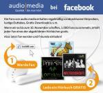 Hörbuch für lau für alle Facebook-Fans
