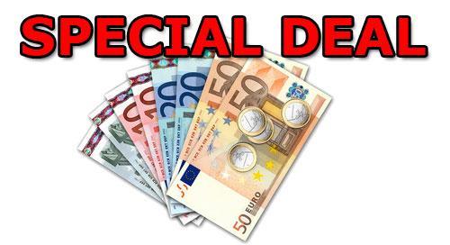 480€ Bargeld für Monatlich 23,98€ 24-Monate und 2x 50MIn. 2x 50 SMS 2x 100MB Internet monatlich inkl.