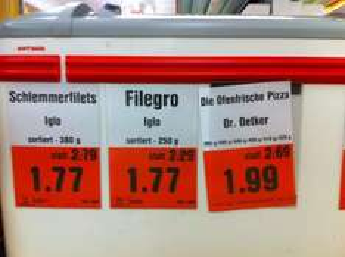 Darmstadt. Ofenfrische Pizza 1.99€