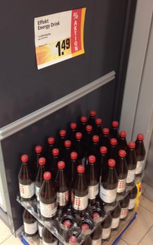 Karnevalsknaller in Köln (evtl. bundesweit?): 1L Effect Energy für 1.49 Euro + weitere Angebote (Red Bull etc.)