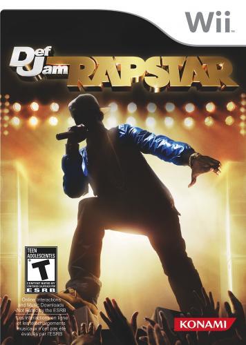 Def Jam Rapstar - Nintendo Wii - Konsolenspiel - 3,90€ + VSK, oder als Lückenfüller