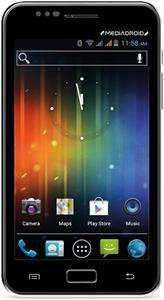 Media-Tech Imperius Smartphone mit großem 5 Zoll HD Android 4. Mit Dual Sim