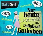 Speeddeal bis 15 Uhr: 25€ DailyDeal-Guthaben für 15€