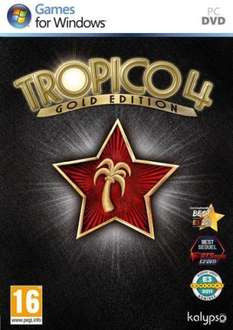 "PC DVD-ROM - Tropico 4 (Gold-Edition inkl. Add-On ""Modern Times"") für €11,64 [@Zavvi.com]"