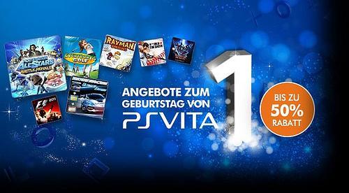 PS-VITA 1-Jahr PS Vita Jubiläums-Sale