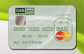 MasterCard Platinum & Priority Pass (Loungezutritt am Flughafen 200 € p.J. & 50 Euro Cashback @DAB Bank