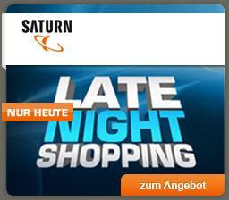 Heute ab 20 Uhr wieder Saturn Late Night Shopping ! Dieses mal mit Apple iPad 4 Generation 16 GB WiFi und Microsoft XBOX 360 4 GB inkl. Forza Horizon
