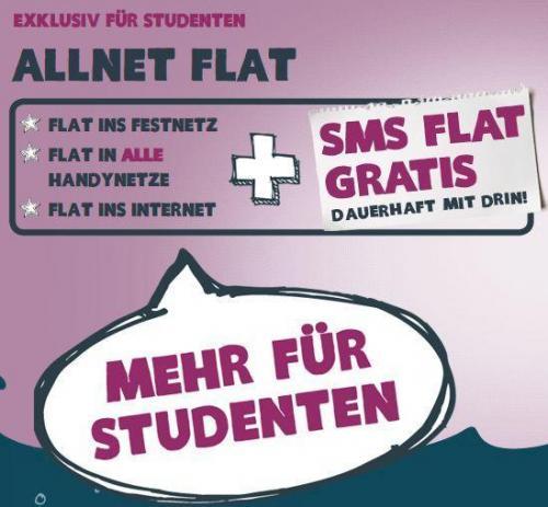 yourfone startet Studententarif mit Gratis-SMS-Flat