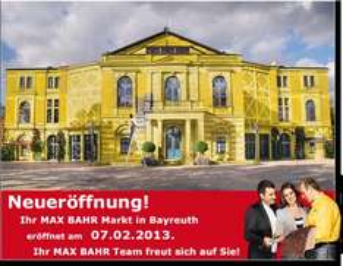[Lokal] Max Bahr - Bayreuth - Eröffnungsangebote - Bosch Profi Bitbox 32-Teilig
