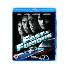Blu-Ray - Fast & Furious 4 (Neues Modell. Originalteile.) für €5,36 [@Play.com]