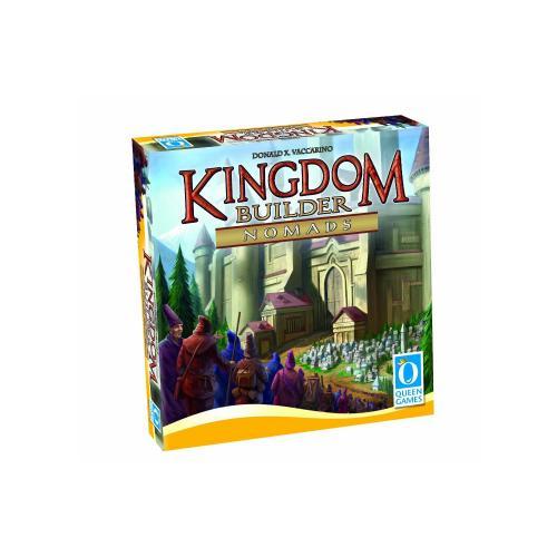 Queen Games 6092 - Kingdom Builder Erweiterung Nomaden für 15,57 € bei Amazon.de