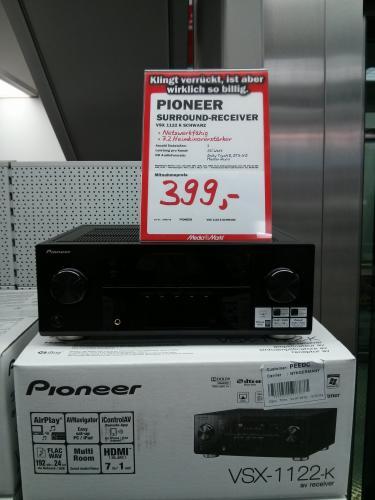 (Lokal Recklinghausen) Media Markt Pioneer VSX-1122 - 7.2-Kanal AV-Receiver 399.-